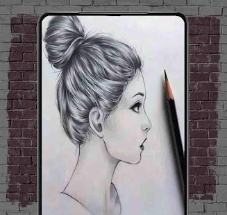 Nápady na náčrty dívky - náhled