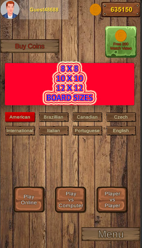 Checkers Online - Draughts Online & Offline android2mod screenshots 3