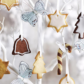 Shortbread Christmas Ornaments