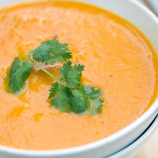 Ginger Carrot Soup.