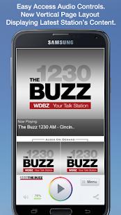 The Buzz 1230 AM - Cincinnati - screenshot thumbnail