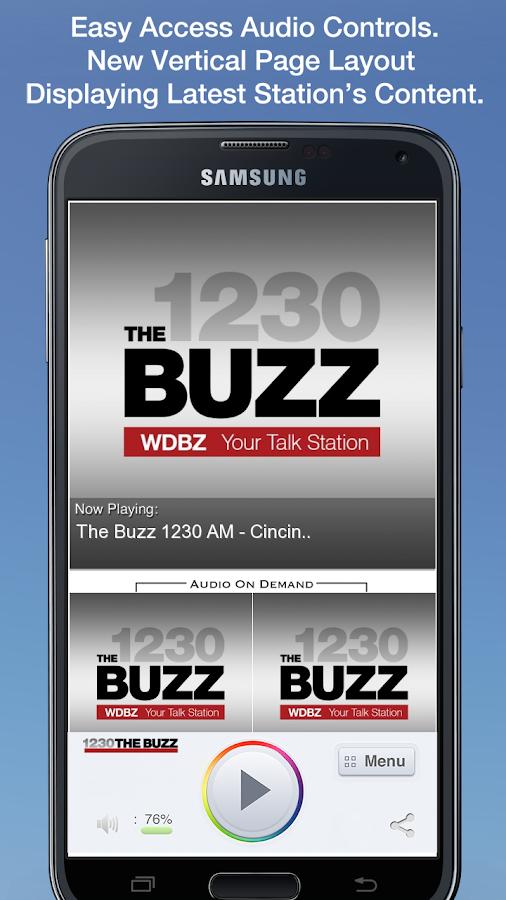The Buzz 1230 AM - Cincinnati- screenshot