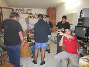 Photo: Druženje uz brodet i pivce nakon utakmice s Pomorcem