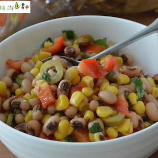 Black-Eyed Peas and Corn Salad