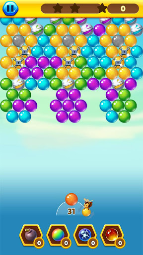 Bubble Bee Pop - Colorful Bubble Shooter Games android2mod screenshots 5