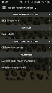 Tangles Hair and Nail Salon for PC-Windows 7,8,10 and Mac apk screenshot 3