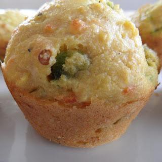 jalapeño Pepper Jack Cornbread Muffins.