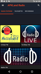 APKLand Tamil Radio Screenshot