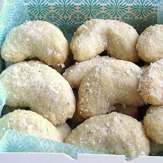 Polish Vanilla Cookies (Ciasteczka Waniliowe)