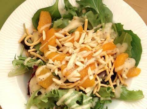 Asian Mandarin Salad Recipe