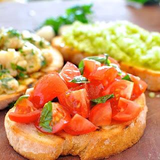 Real Tomato and Basil Bruschetta Recipe