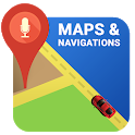 Driving Car Navigator Directions, Maps Traffic icon