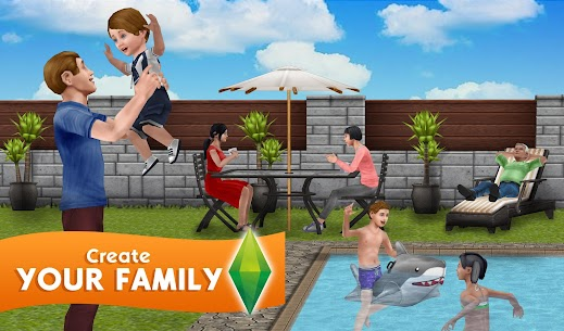 The Sims FreePlay Mod Apk 5.56.1 [Unlimited Money + VIP] 5