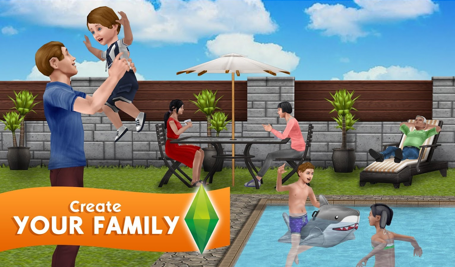 The Sims Freeplay Tangkapan Layar