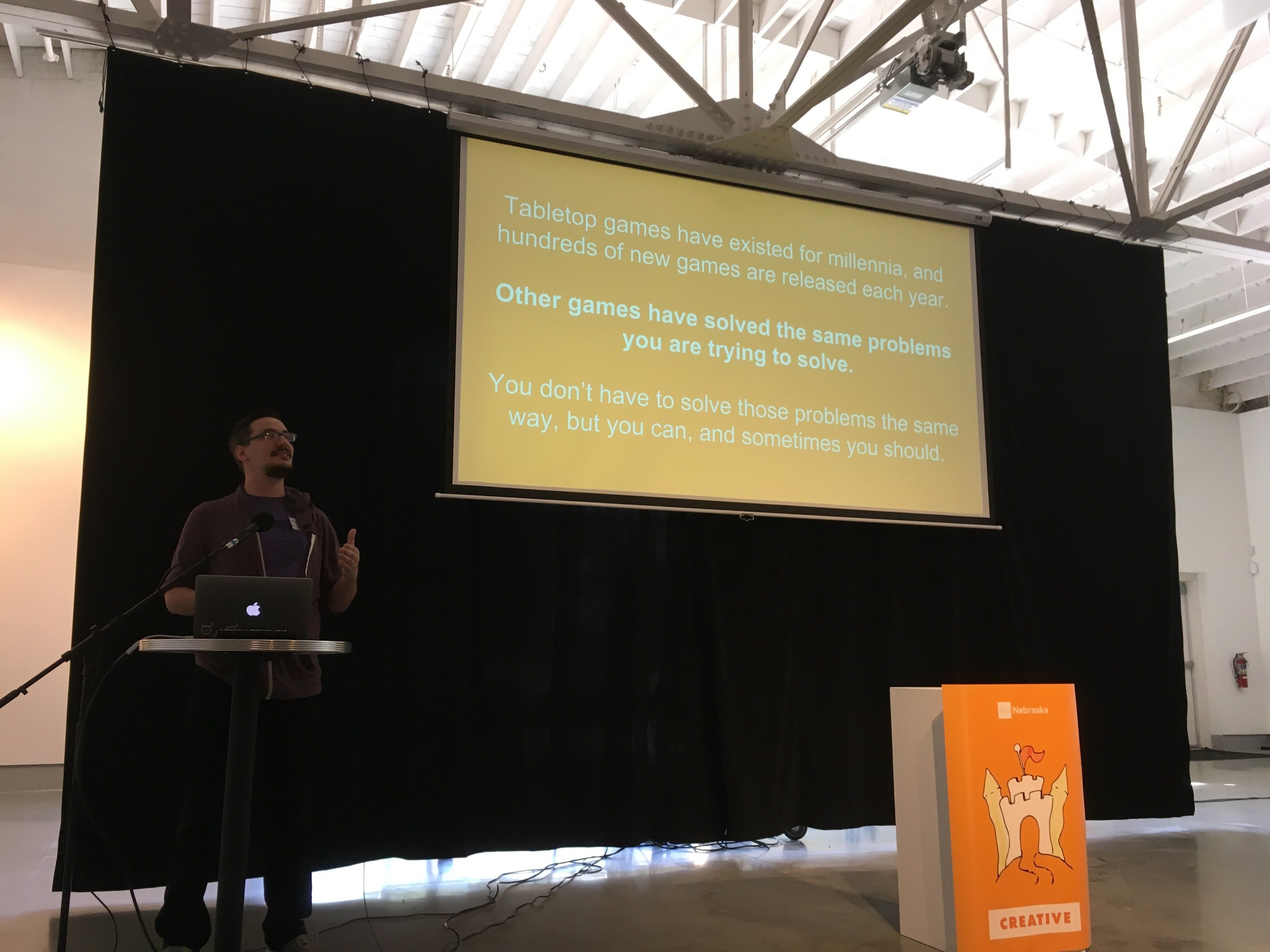 Andrew Yolland on UX and Game Design