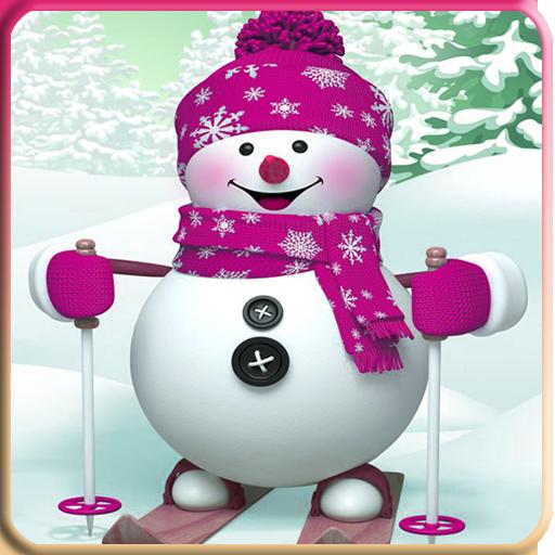 雪人动态壁纸 個人化 App LOGO-硬是要APP
