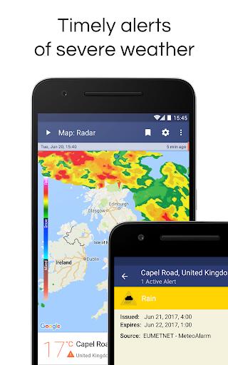 Weather Radar Live & Alerts screenshot