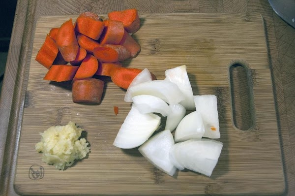 Prep the remaining ingredients, and have them on hand.