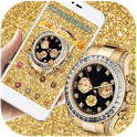 Gold Diamond HD Watch icon