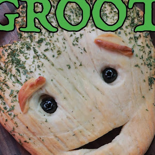 I Am Groot Garlic Bread.