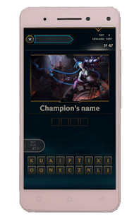 Quiz of League of Legends - náhled
