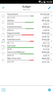 Home Budget with Sync- screenshot thumbnail