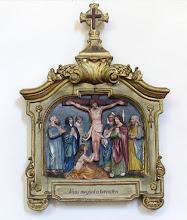 """Photo: *XII. stáció: Jézus meghal a kereszten """"Jézus mondá: Beteljesedett. És lehajtván fejét, kiadá lelkét"""" (Jn 19,30.)"""