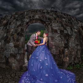 first love by Freddie Ambrose - Wedding Bride & Groom