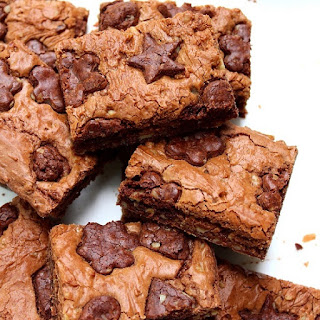 Chewy Butterscotch Chocolate Chip Cookie Bars
