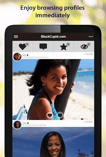 BlackCupid - Black Dating App 2.1.6.1557 screenshots 6