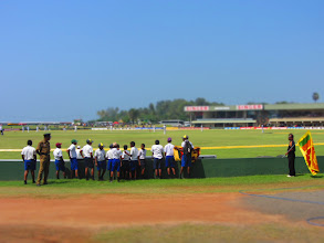 Photo: Cricket Test in Galle.
