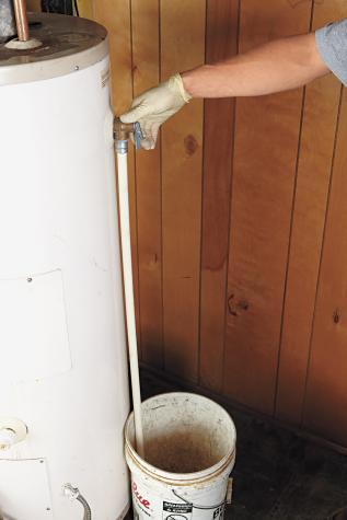 tpr valve, hot water heater