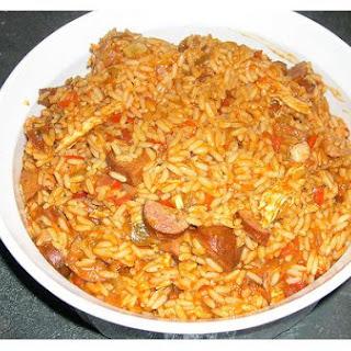 Low Fat Brown Rice Stir Fry.