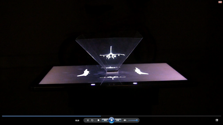 DIY Hologram 3D- screenshot thumbnail