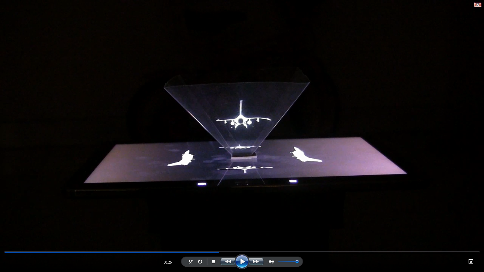 DIY Hologram 3D- screenshot