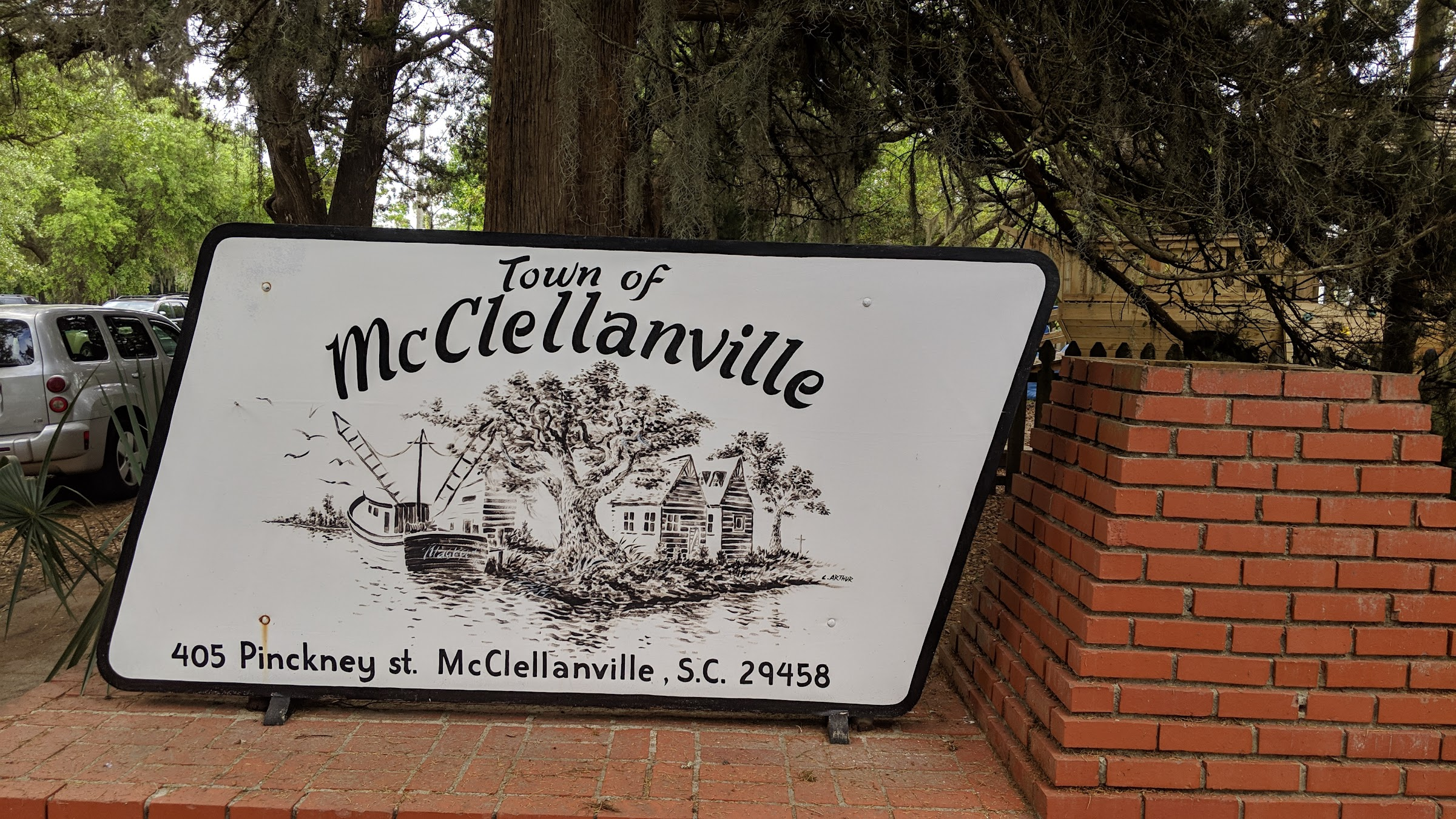 McClellanville SC sign