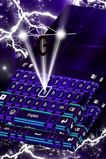 Sci Fi Keyboard Theme - náhled