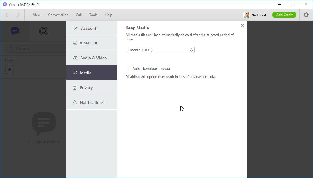thumbapps.org Viber Portable, Settings -> Media