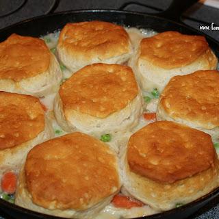 Turkey Biscuit Stew.