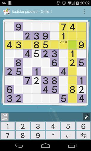 Grid games (crossword, sudoku) 2.4.9 screenshots 2