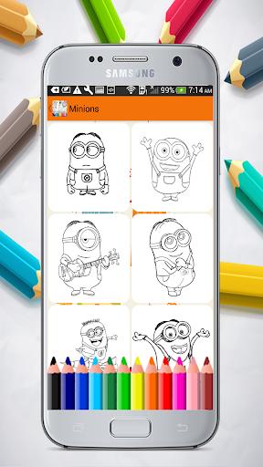 Cartoons Coloring Pages 1.01.0 screenshots 2