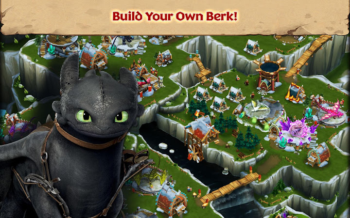 Dragons: Rise of Berk Android App Screenshot
