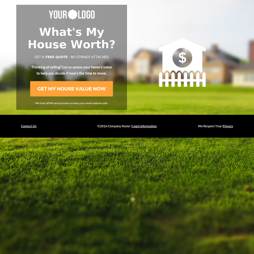 Home Value Opt-in Page
