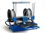 MAKEiT PRO High Resolution Dual Extruder 3D Printer