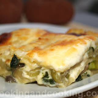 Vegetarian Lasagna Without Tomatoes Recipes.