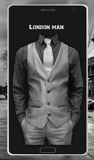 London Man Photo Suit