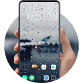 Rain Drops HD Wallpapers Glass City Theme Android APK Download Free By Tingtingtheme