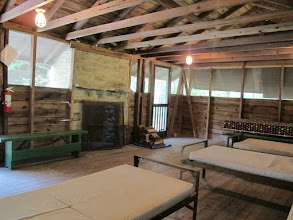 Photo: Omikse Unit House:  There is a fireplace in the Omikse Unit House.