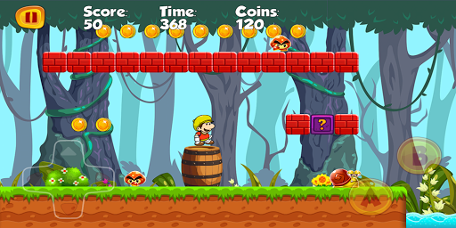 Jungle World of dario Adventure android2mod screenshots 14