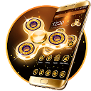 Golden Fidget Spinner Theme APK